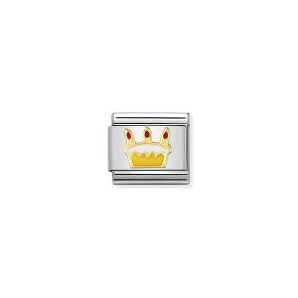 Birthday Cake charm By Nomination Italy from Nomination only 22.00 GBP