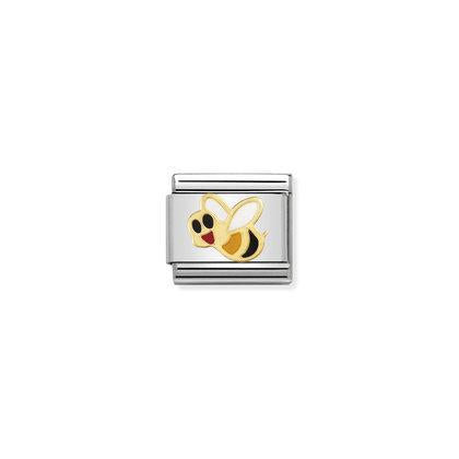 Gold Enamel - Bee charm By Nomination Italy from Nomination only 22.00 GBP