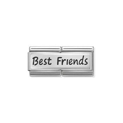 Nomination Charm - Silver Double Best Friends from Nomination only 29.00 GBP