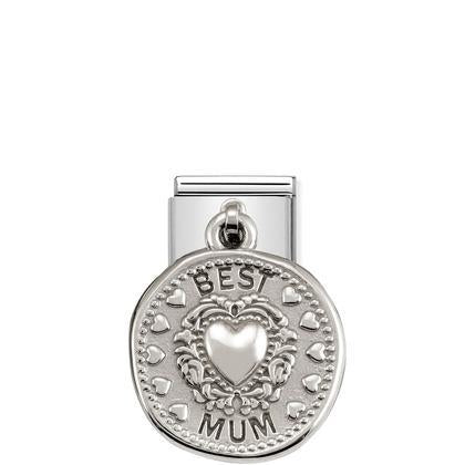 Coin Charm - Best Mum charm By Nomination Italy from Nomination only 27.00 GBP