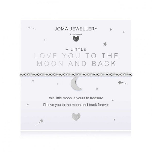Joma Jewellery Childrens - I Love You To The Moon & Back