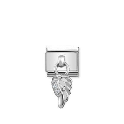 Silver - Wing CharmCharm By Nomination Italy from Nomination only 39.00 GBP