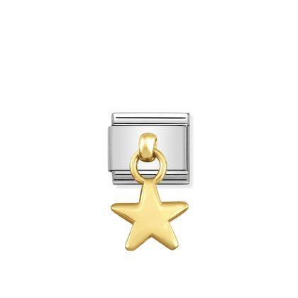 Nomination Charm Gold Dangle - Star