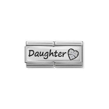 Nomination Silver Double - Daughter