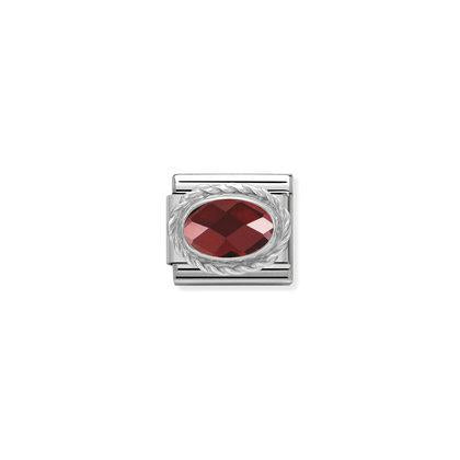 Silver Faceted Stones - Red Charm By Nomination Italy from Nomination only 20.00 GBP