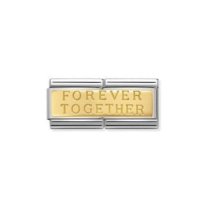 Double Forever Together Charm By Nomination Italy from Nomination only 62.00 GBP