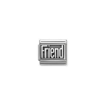 Silver - Friend charm By Nomination Italy from Nomination only 20.00 GBP