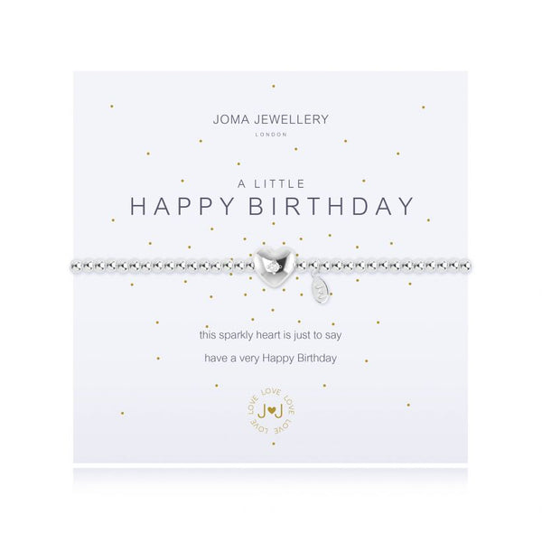 Joma Jewellery - Happy Birthday