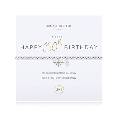Happy 30th birthday from Joma Jewellery only 15.50 GBP