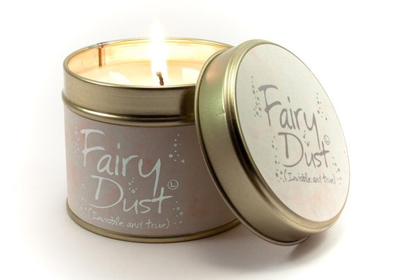 Fairy dust candle from Lily flame candles only 8.95 GBP