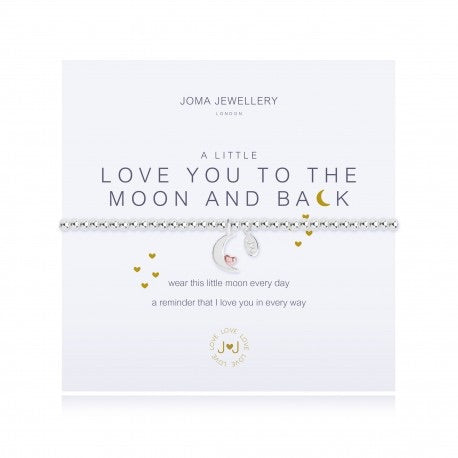 Love you to the moon and back Joma bracelet from Joma Jewellery only 17.99 GBP