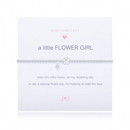 Joma Jewellery flower girl bracelet