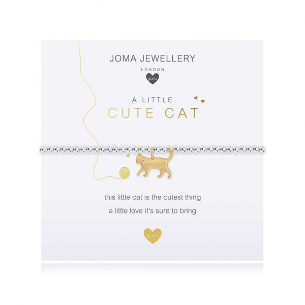 Children's Joma Bracelet - Cute Cat from Joma Jewellery only 13.99 GBP