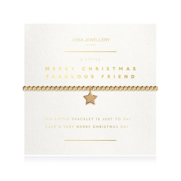 Joma Jewellery- Merry Christmas Fabulous Friend