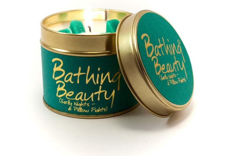 Bathing beauty candle