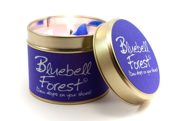 Bluebell forest scented candle from Lily flame candles only 8.95 GBP