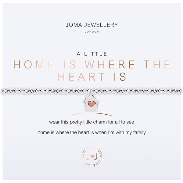 Joma jewellery - Home Is Where The Heart Is from Joma Jewellery only 17.99 GBP