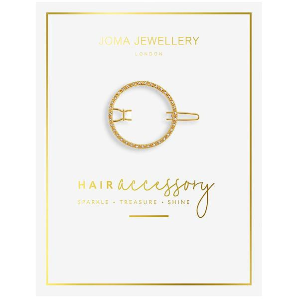Joma Hair Clip - Gold Circle