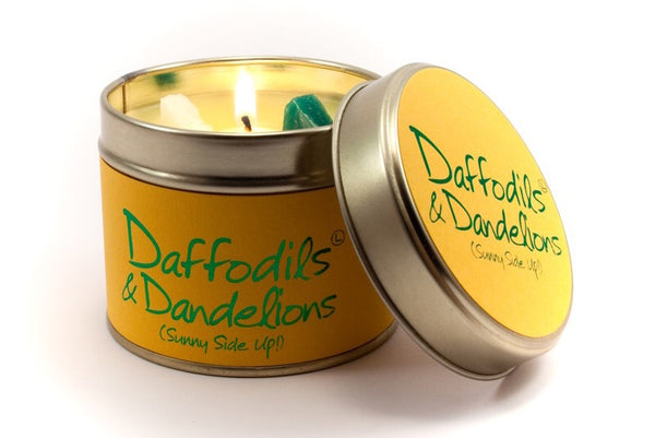 Daffodils and dandelions candle from Lily flame candles only 8.95 GBP