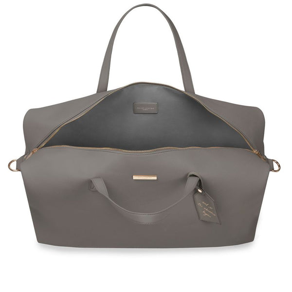 Katie Loxton - Weekend Holdall Bag - Charcoal from Katie Loxton only 89.99 GBP