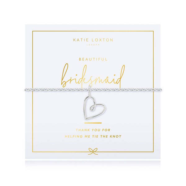 Katie Loxton - Pouch Bag And Bracelet Gift Set - Bridesmaid