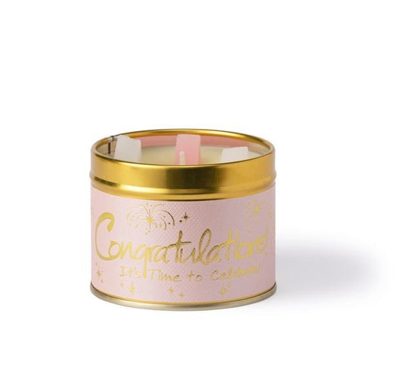 Lily Flame - Congratulations from Lily flame candles only 8.95 GBP