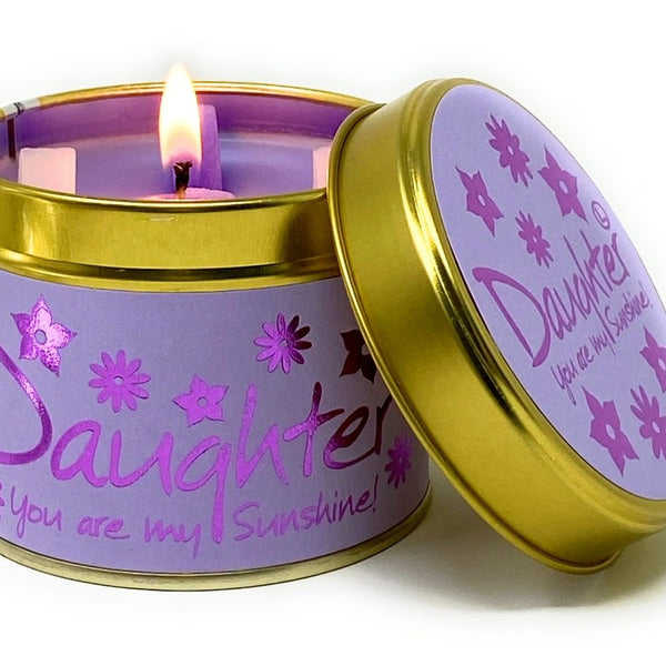 Lily Flame Candle - Daughter