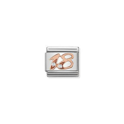 Rose Gold - 18 charm By Nomination Italy from Nomination only 27.00 GBP