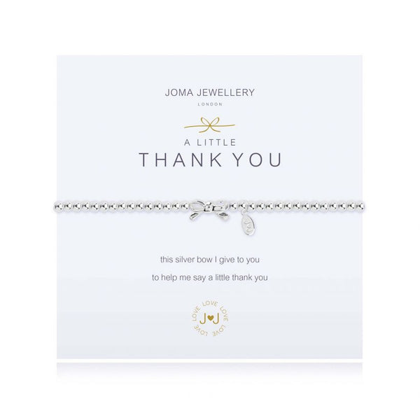 Joma Bracelet - Thank you from Kismet only 16.50 GBP
