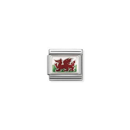 Flags - Wales charm By Nomination Italy from Nomination only 16.00 GBP