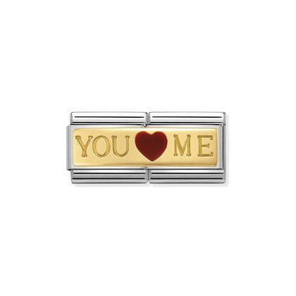 Double - You And Me charm By Nomination Italy from Nomination only 62.00 GBP