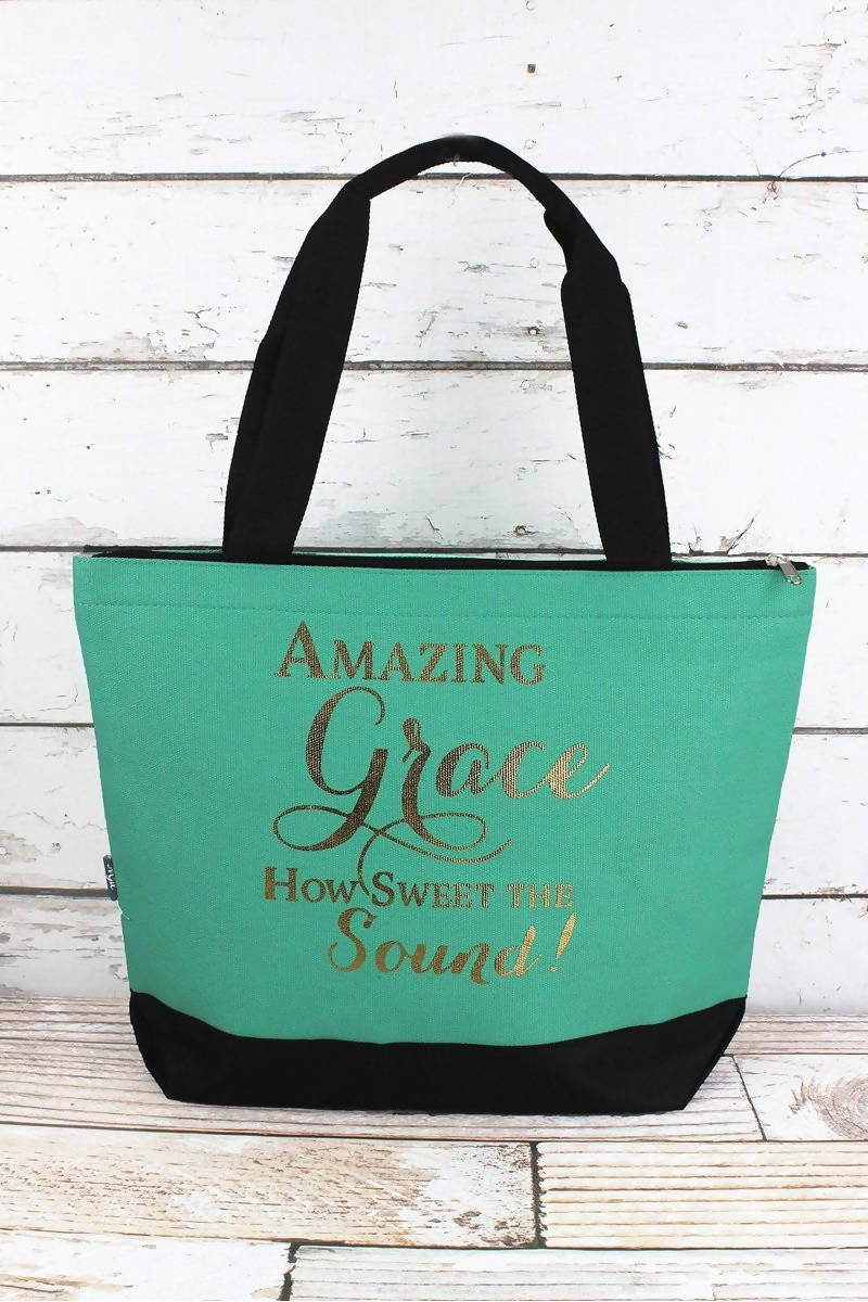 AMAZING GRACE TOTE BAG