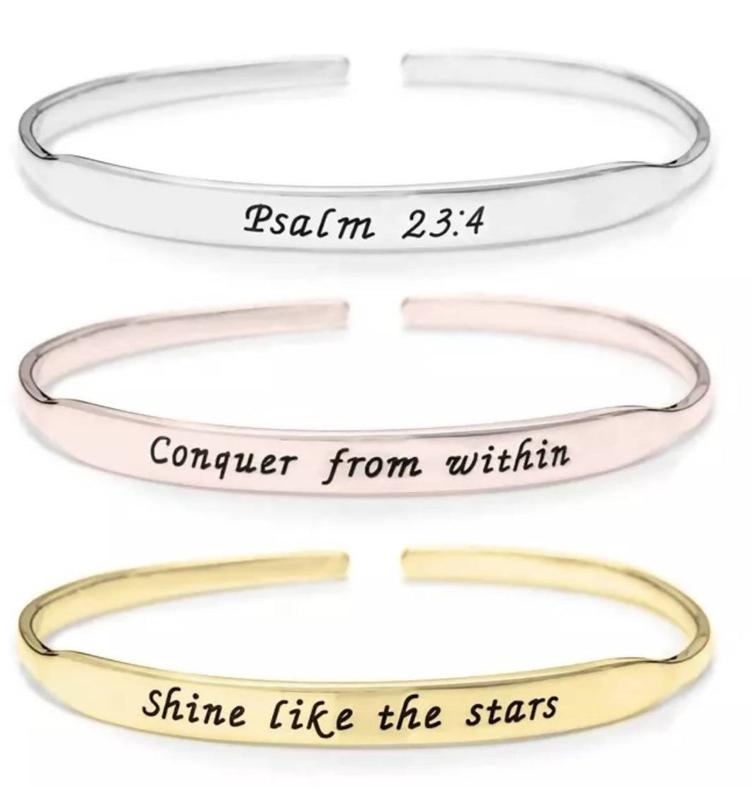 CREATE YOUR OWN INSPIRE BRACELET