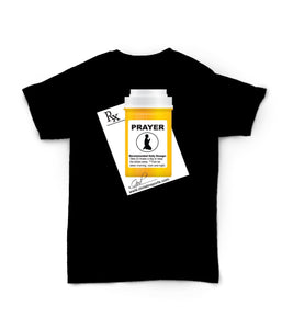 Christ In Sports- Black Prescription Tee