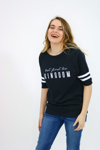 But First his Kingdom - Vintage French Terry T-Shirt