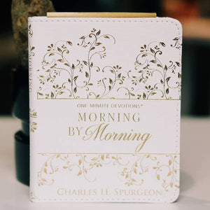 DESIRES OF YOUR HEART JOURNAL with MORNING BY MORNING DEVOTIONAL