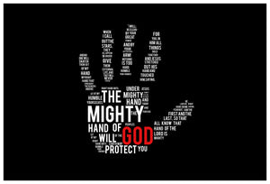The Mighty Hand Of God Tee