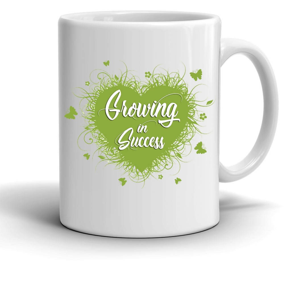 Growing In Success Mug