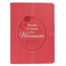 Words of Jesus for Women LuxLeather Edition Devotional