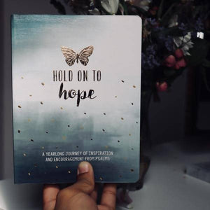 Hold On To Hope Devotion w/ Trust In the Lord Journal