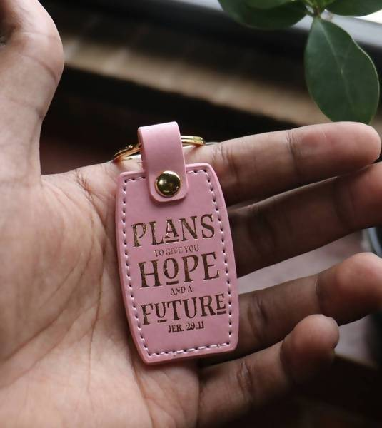 HOPE and FUTURE LUXLEATHER KEYring