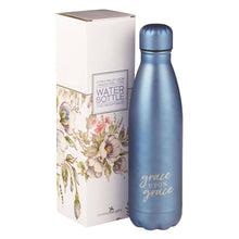 Grace Upon Grace Stainless Steel Water Bottle (BLUE)