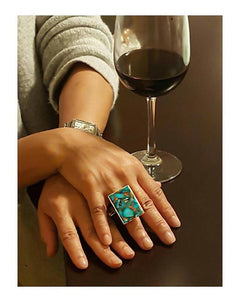 Peacock Collection Ring