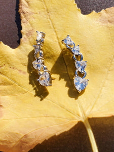 Herz Crawler Earrings
