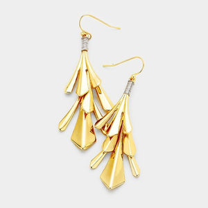 Abstract Dangle Earrings