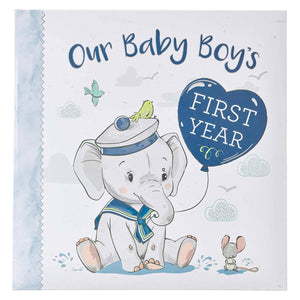 Our Baby Boy's First Year Memory Book