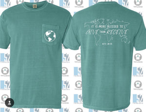 Short sleeve comfort colors t-shirt