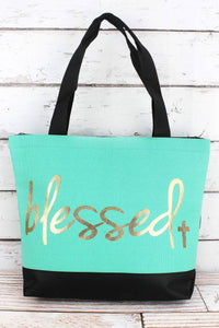 'BLESSED' TOTE BAG