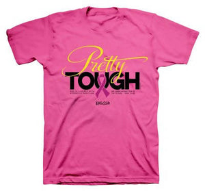 Pretty Tough (PINK) BREAST CANCER SHIRT