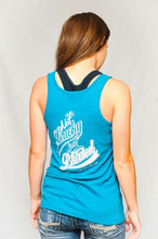 "Christ In Sports - Women's Tank ""Not Lucky Just Blessed"""
